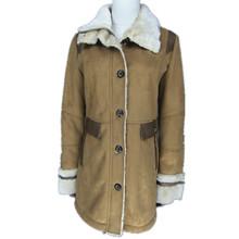 2015 ladies polular winter women's faux fur suede jacket coat long coat Women fashion faux fur coats for OEM ODM