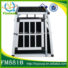outdoor travel carrier pet cages aluminum dog kennel