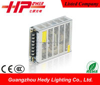 China factory high quality metal case led power transformer 100w 20 amp 5 volts dc to ac power supply