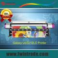 Nuevo Modelo 02 unidades F186000 Dx5 cabezales 3.2m grande formato eco solvente Galaxy impresora UD-3212LC