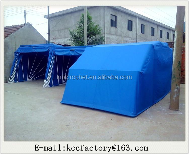 Folding Portable Car Shelter : Portable outdoor car garage durable folding parking