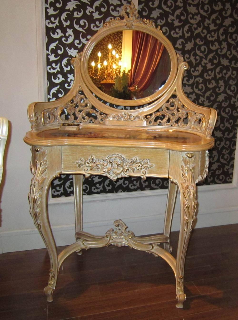 고급 프랑스어 루이스 XV 빈티지 콘솔 테이블 거울/ 고풍스러운 ...