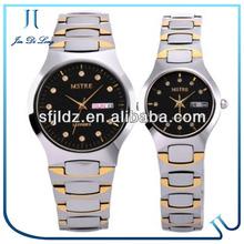 Sapphire tungsten Quartz Stainless Steel Watch Water Resistant, Quartz Stainless Steel Back Watch, Promotional Branded Gift Men
