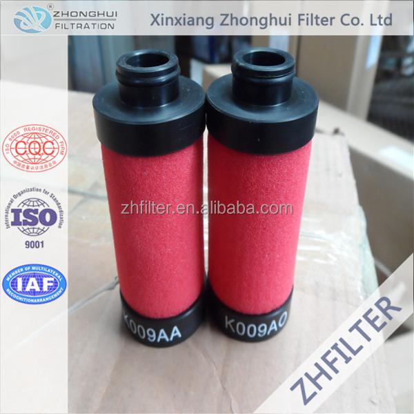 Domnick Hunter compressed air filter element K009AX