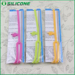 New product finger silicone bookmark SSQ-01