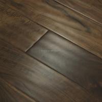 Cheap hand scraped acacia engineered solid lumber flooring