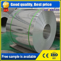 China manufacturer hot rolling five bar embossed aluminum roll