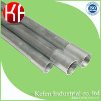 20mm pre galvanized electrical steel g.i. pipe for cable protection