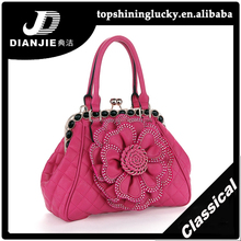 10% Discount 2014 Classical fashion women bags with crystal flower