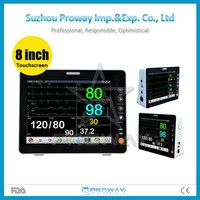 Medical hospital equipments PPM-J2008 CE approved ambulance multiparameter patient monitor price