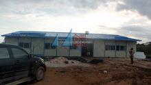 Temporal casas para trabajador alojamiento, casa modular para oficina, casa prefabricada maquinaria