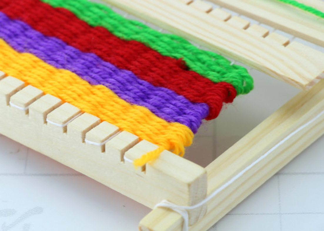 Loom Knitting For Kids : Free delivery diy weave educational toys children s
