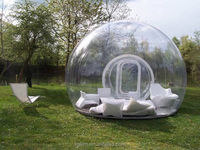 Bubble tent Inflatable clear air dome tent price