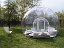 Tenda bolha inflável clara tenda dome ar preço