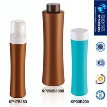 blowing plastic bottle ,Cosmetic Plastic shampoo Bottle 200ml 300ml square bottle with disc top cap