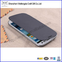 High Quality Leather Flip Wallet Case For Samsung Galaxy S3 iii