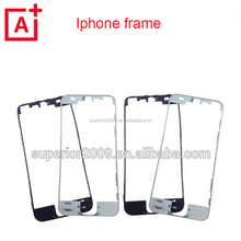 High quality spare parts for iphone Frame for iPhone 5 5s 5c 6 front LCD Frame for iphone frame withhot glue