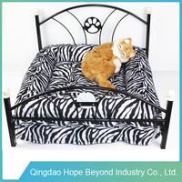 wrought iron design dog bed, ,custom cat bed, metal sofa pet bed