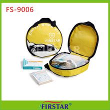Portable Complete top quality firstar auto first aid kit with