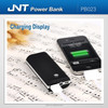 Portable charger power bank with ABS rubber paint coating PB023