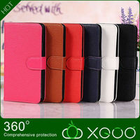 2013 Hot Selling Exquisite Clemence Case PU Leather Stand Wallet cell phone covers For Samsung galaxy Note 3 With 3 Card Slots
