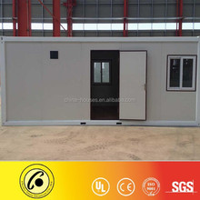 CE,CSA&AS certificate sandwich panel 20ft flat pack container house