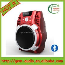 """6.5"""" mini DJ speaker Good sound music system for promotion Gem-116"""