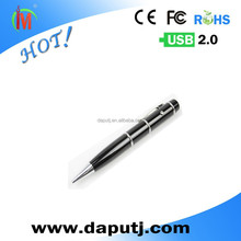 2015Free samples! metal pen usb,laser pen usb disk 2GB/4GB/8GB usb pen drive