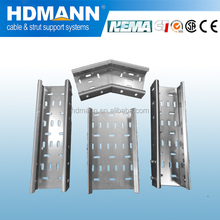 With cover galvanized perforated cable tray /China OEM supplier