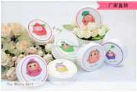 Circle shape contact lens cases, factory outlet round contact lens case travel kit
