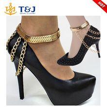 Celebrity Sexy Tassel Chain Sandal Anklet Barefoot High Heel Shoe Ankle Bracelet
