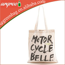Large Cotton Canvas Shopping Tote Bags Motor Cycle Bag