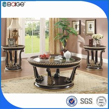C-1208 living room furniture wooden coffee table/fire coffee table/natural stone coffee table