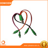 2015 New Style 4 in 1 LED Lighting Diamond Decorative Braided USB Data Charger Cable