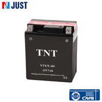 Supply 12v 7ah sealed lead acid motorcycle battery with low price