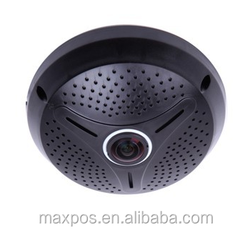 Fish-eye panoramic 360 degree IP Camera