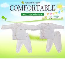 100% Cotton Hot Sales nice design winter newborn born baby garments