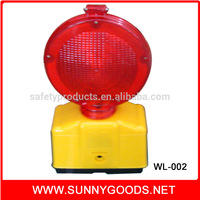 mental handle photocell yellow and red rotary warning light
