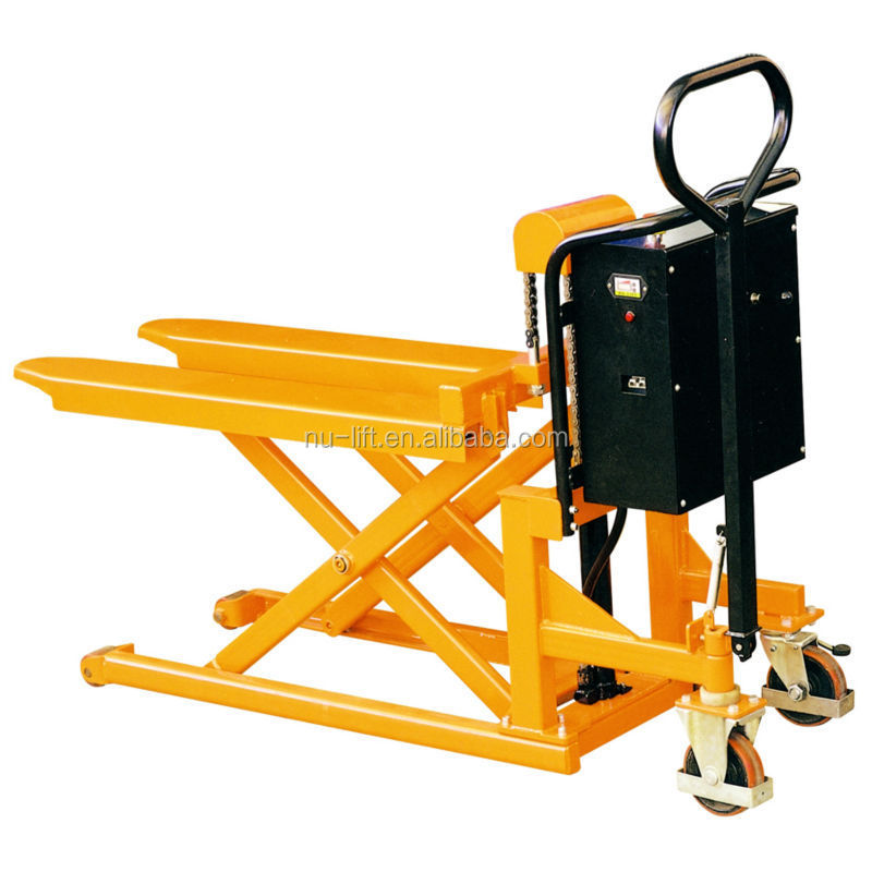 Hydraulic Pallet Lifters : Electric hydraulic pallet skid lifter buy table
