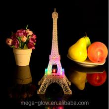 25cm RGB Romantic Colorful Life Need Romantic Gifts - Eiffel Tower