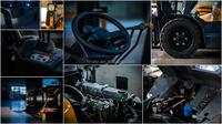 Gasoline liquefied petroleum gas forklift truck 2.5ton