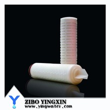 2015 High Quality Wholesale Membrane Pleated Water Filter Cartridge