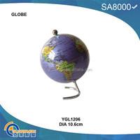 cheap plastic business deskpot globe