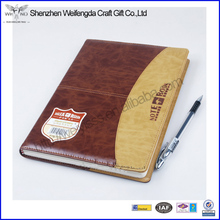 New Fashion Cheap Sale Business Office Leather Notebook Portfolio