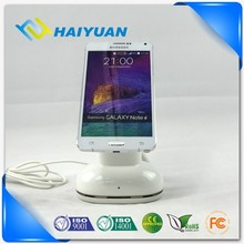 Theftproof alarm universal cell phone table holder