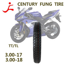 excellent quality motorcycle chopper tyre/tire 300-17TT/TL