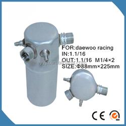 Auto Aluminium AC air conditioner Receiver Filter Drier