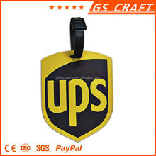 Top sale custom design durable hard plastic luggage tag