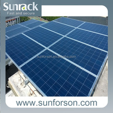 versatile ground pv panel mounting structure/bracket/rack/frame