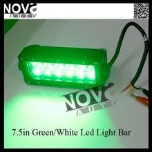 Hot sales ! White / Amber (Green) intensity LED lighting to Different Environment,Dual Function LED Light bar